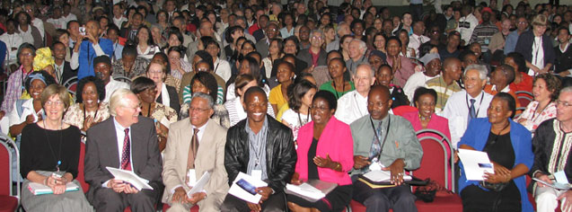The Johannesburg conference, with 1,150 participants, was the largest Bahá'í gathering ever held in that country.