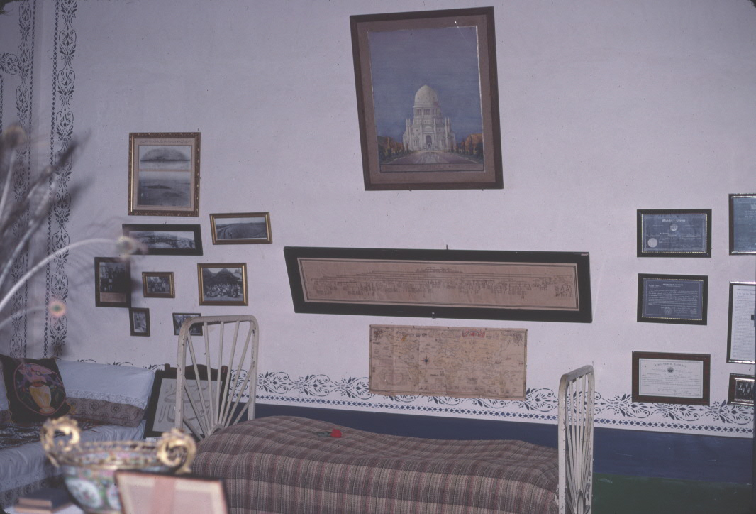 Shoghi Effendi's room at the mansion at Bahjí