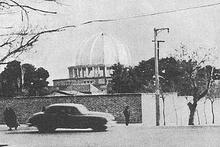 The Bahá'í Temple in Teheran before its destruction in 1955 by fanatical clergy