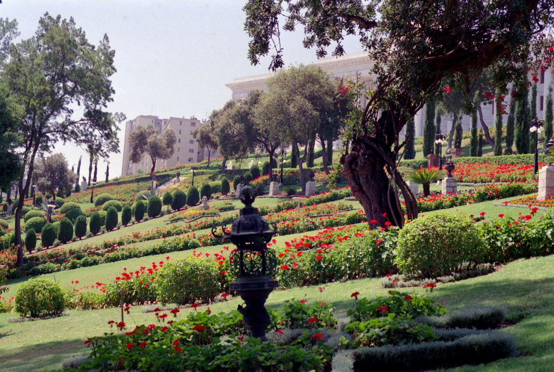 The Monument Gardens and the Seat of the Universal House of Justice in Haifa, Israel