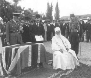 'Abdu'l-Bahá is knighted for His humanitarian services to the people of Haifa during World War I.