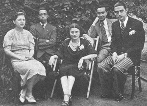 Bahá'í youth in Lyon, France in June 1936