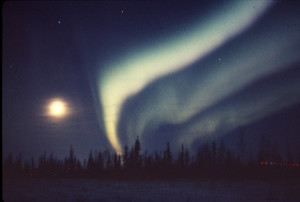 Fairbanks 1976 May Aurora Borealis