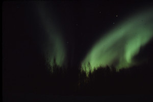 Fairbanks 1978 March Aurora Borealis