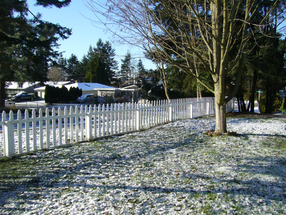 A dusting of snow in Tacoma and Pierce County