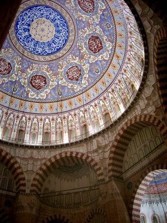 The Sultán Salím Mosque in Edirne (Adrianople)